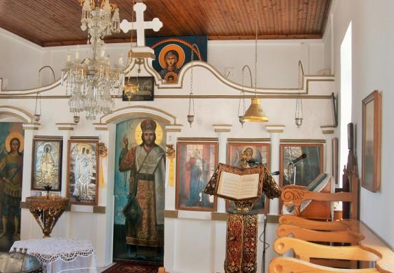 Agia Paraskevi of Myrina Iconostasis