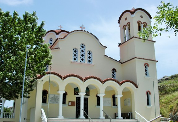 Agios Dimitrios Church in the town of Ag. Dimitrios  Dated 1922 - 2001