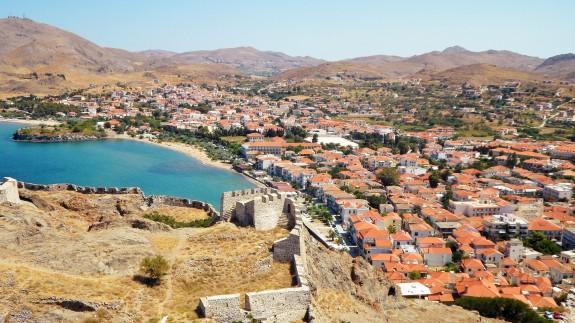 Overlook from Kastro at Myrina